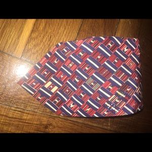 Multi color Valentino silk tie. Made in Italy.